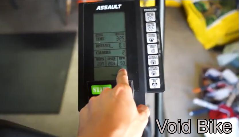 assault air bike heart rate monitor
