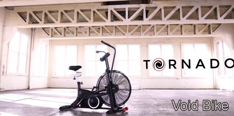 Sunny Health & Fitness Air Bike Tornado XL